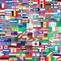 partir à l'etranger drapeaux